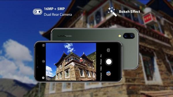 UMIDIGI A3s Camera