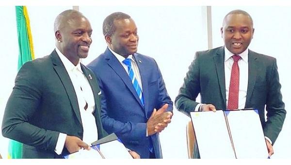 AKON Finalizes Akon City