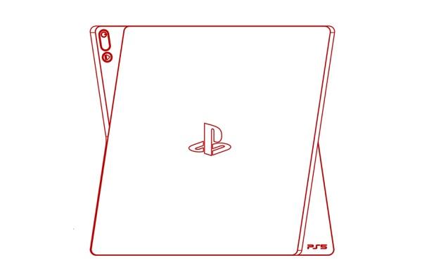 Alleged PS5 Sketch 2