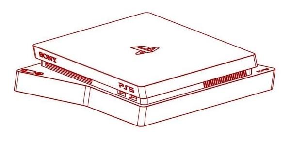 Alleged PS5 Sketch