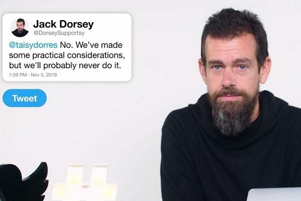 Jack Dorsey On Twitter Edit Button