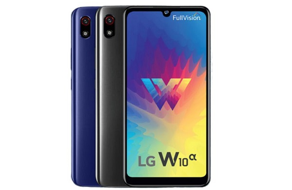 LG W10 alpha in colours