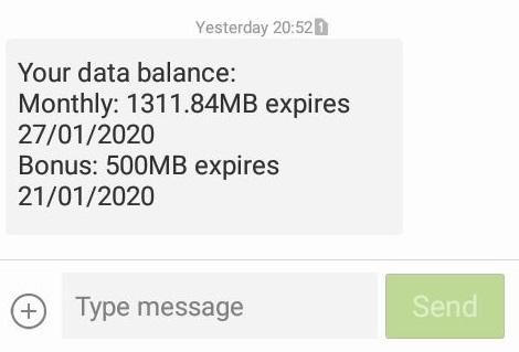 MTN Bonus for Network Issue