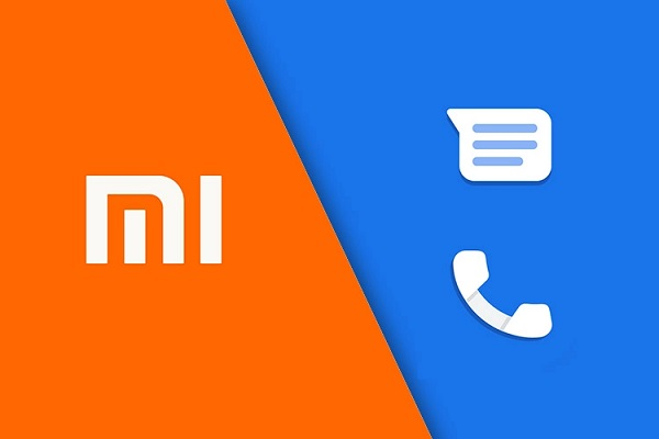 Mi and Google Dailer and Messages