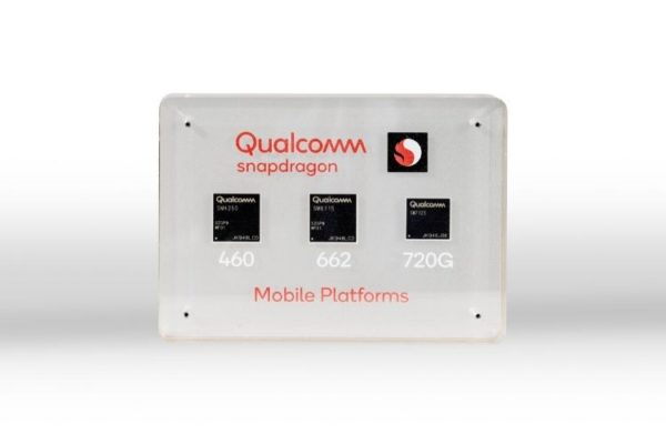 Qualcomm Unveils Snapdragon 720G, 662 and 460