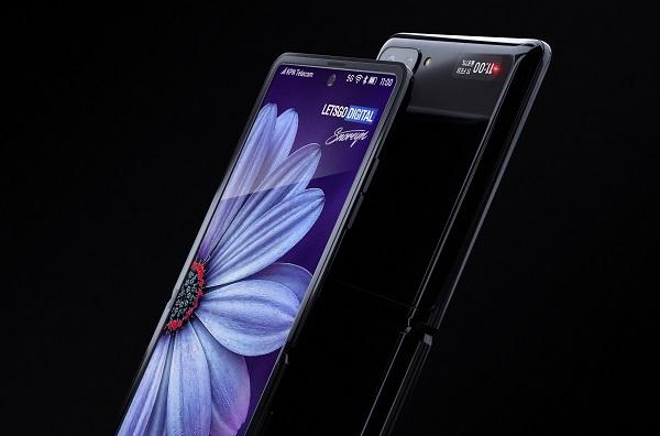 Samsung Galaxy Z Flip renders