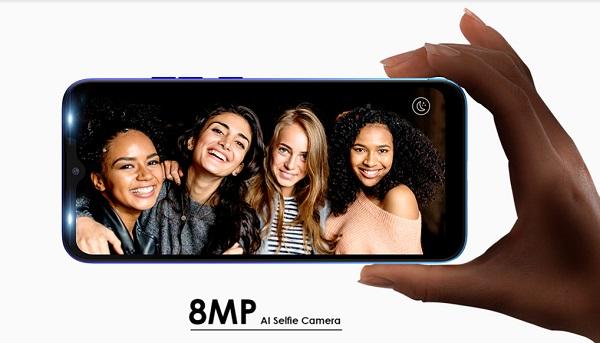 TECNO Spark 4 Lite Selfie Camera
