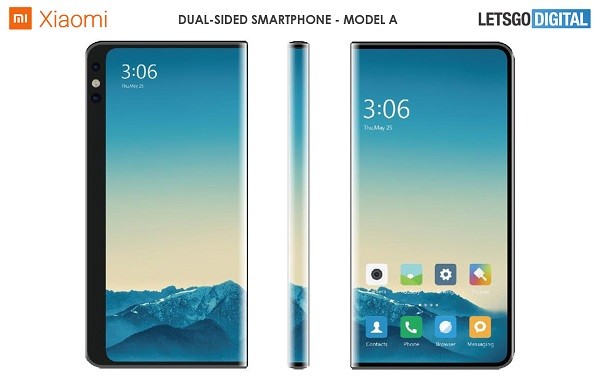 Xiaomi Working On Dual Sided screen