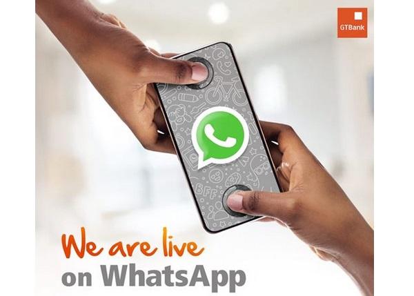 GTBank Customer Care On WhatsApp