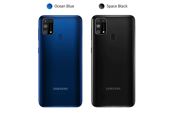Galaxy M31 In Colours