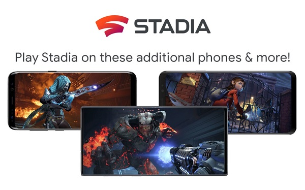 Google Stadia On Smartphones