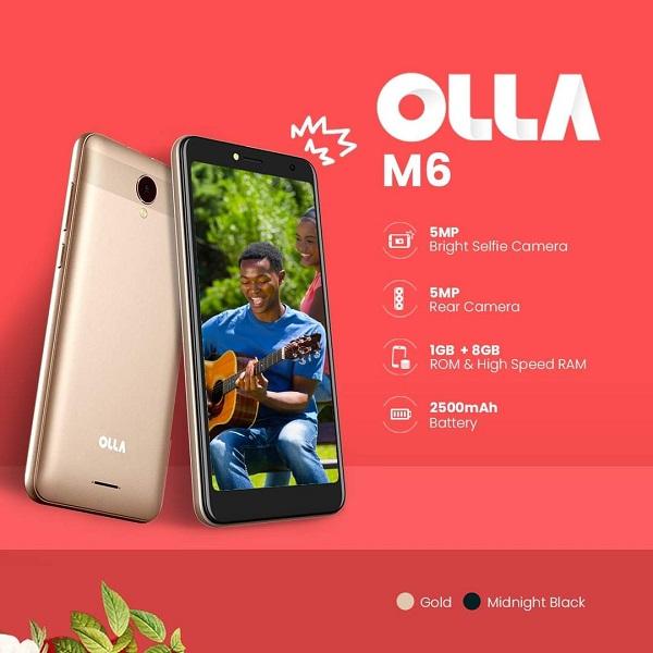 OLLA M6 banner