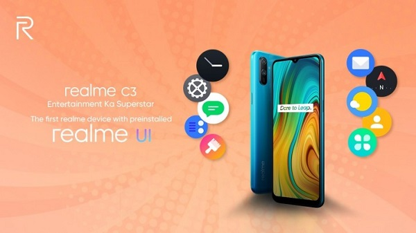 Realme C3 to run Realme UI