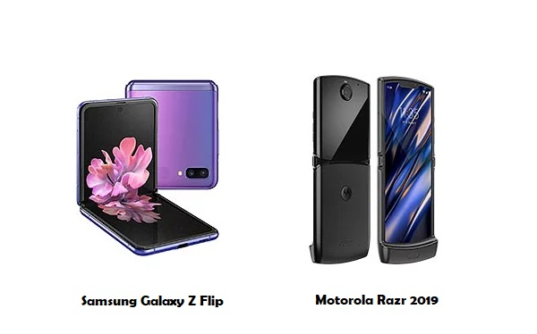 Samsung Galaxy Z Flip vs Motorola Razr 2019
