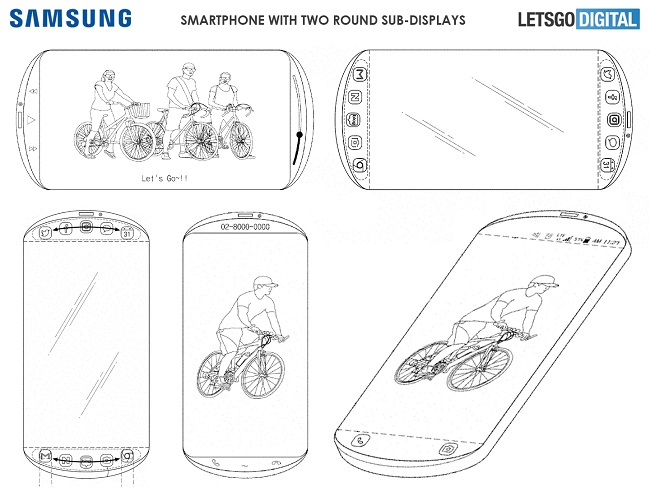 Samsung Patents On A Round Smartphone