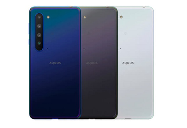 Sharp AQUOS R5G In Colours