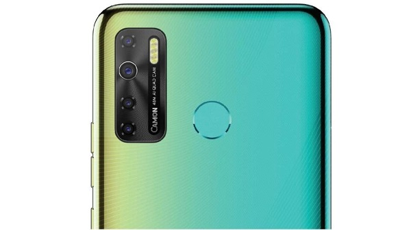Tecno Camon 15 Rear Camera