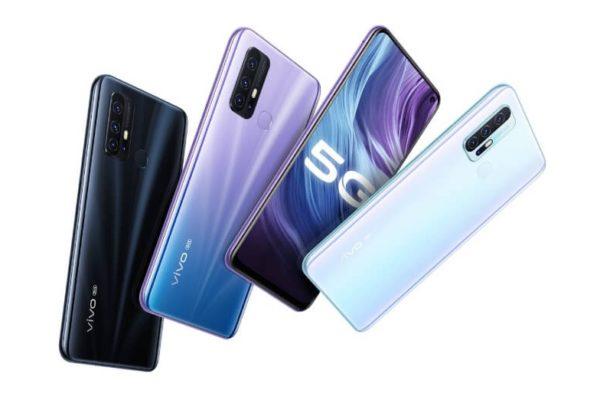 Vivo Z6 5G in Colours
