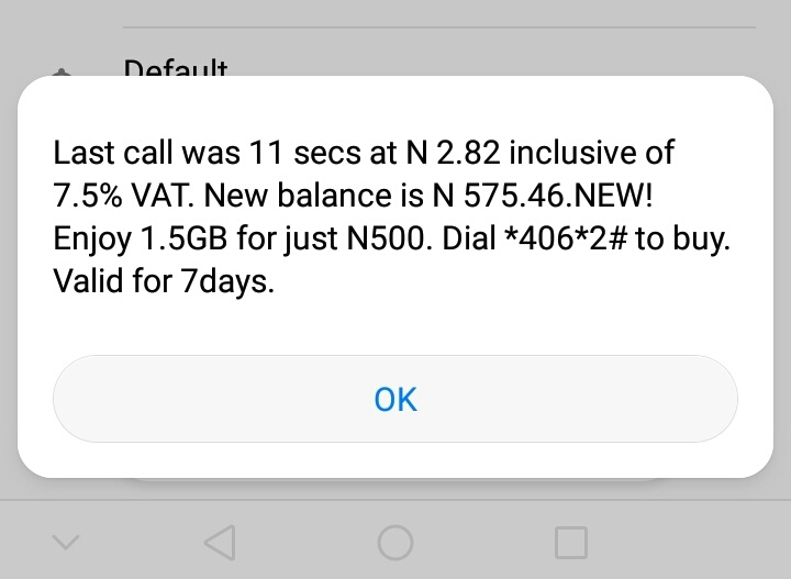 7.5% vat on calls