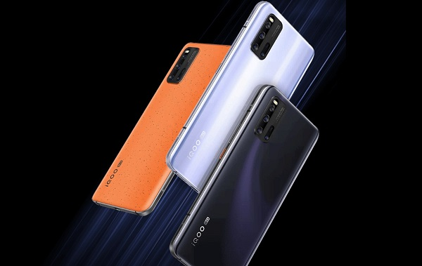 vivo iQOO3 5G in colours