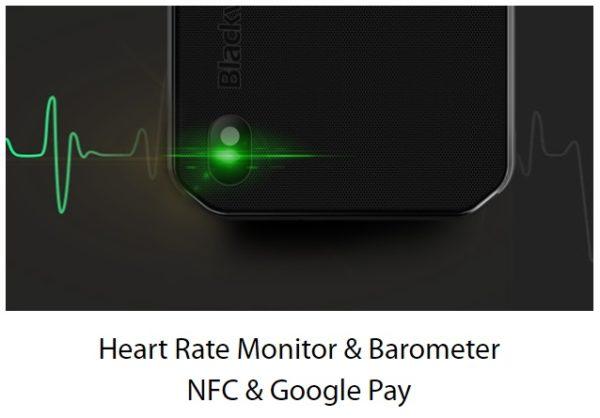 Blackview BV9900 Pro Heart Rate Monitor & Barometer NFC & Google Play