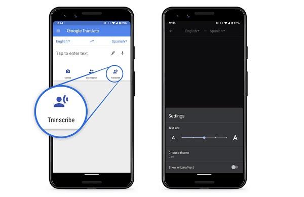 Google Translate On Phones