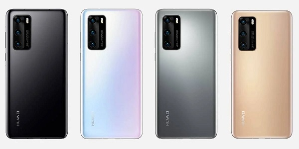 Huawei P40 In Colours