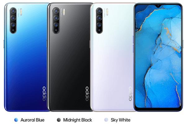 Oppo Reno 3 In Colours