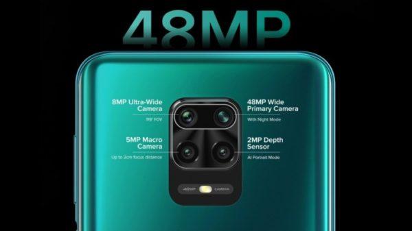 Redmi Note 9 Pro Rear Cam