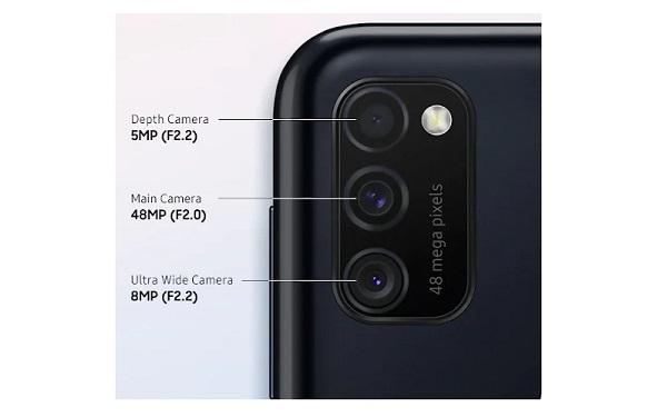 Samsung Galaxy M21 Cameras