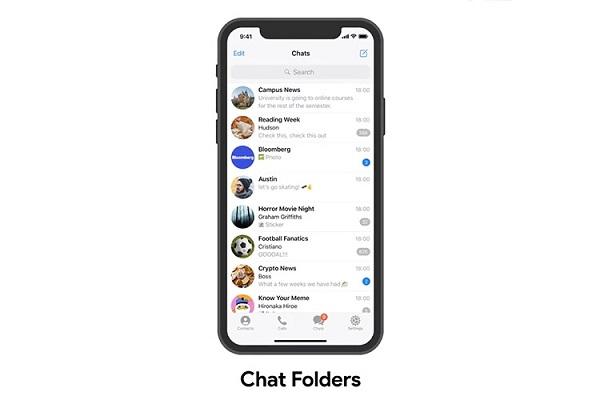 Telegram Chat Folder