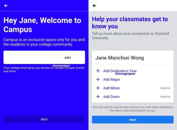 Facebook Working on Campus Hub Exclusively for Students