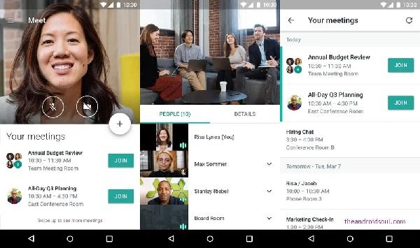 Hangout Meet now called Google Meet