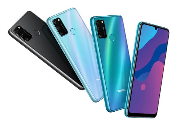 Honor 9A In Colors