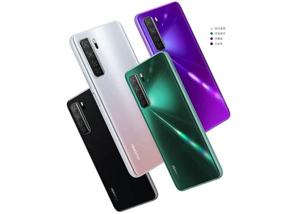 Huawei nova 7 SE in colors
