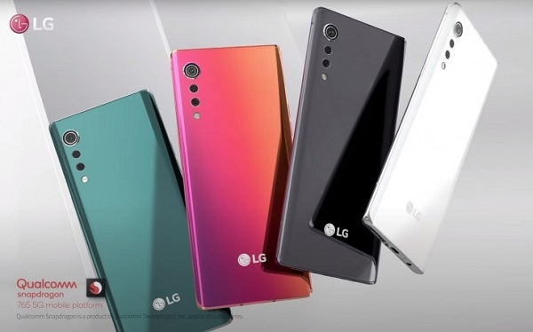 LG Velvet In Colours