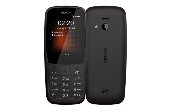 Nokia 220 4G In Black