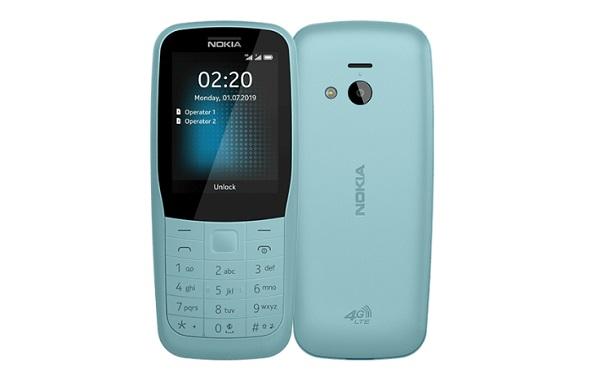 Nokia 220 4G In Blue