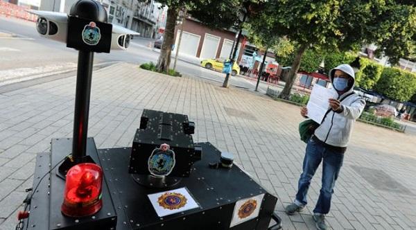 PGuard Police Robot In Tunisia.