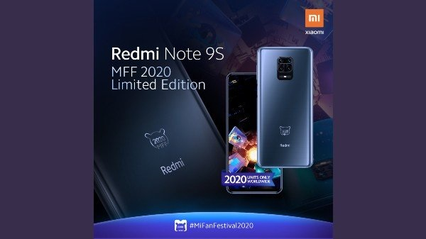 Redmi Note 9S MFF 2020 Limited Edition Launched