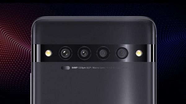 TCL 10 Pro Rear Camera