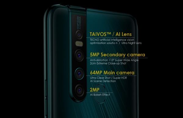 TECNO Camon 15 Premier Rear Camera