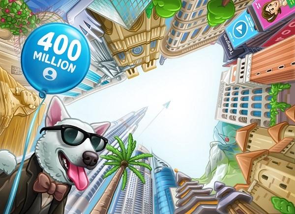 Telegram Reaches 400m users