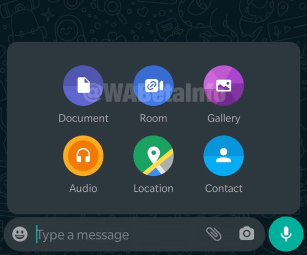 WhatsApp to get messenger room integration