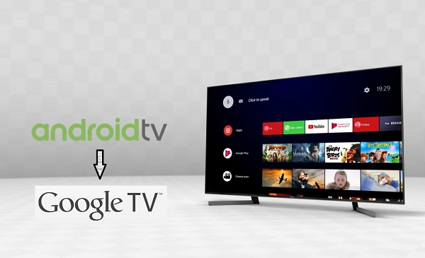 Android TV to Google TV