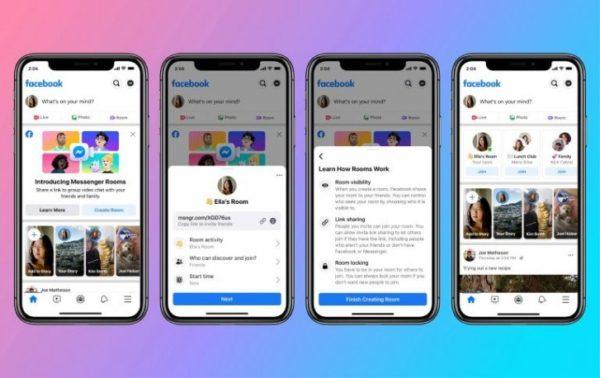 Facebook Messenger Rooms Goes live