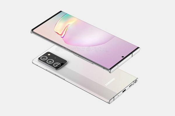 Alleged Galaxy Note20 Plus Render