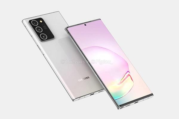 Alleged Galaxy Note20 Plus Render