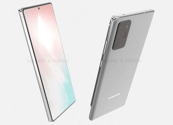 Galaxy Note20 Render
