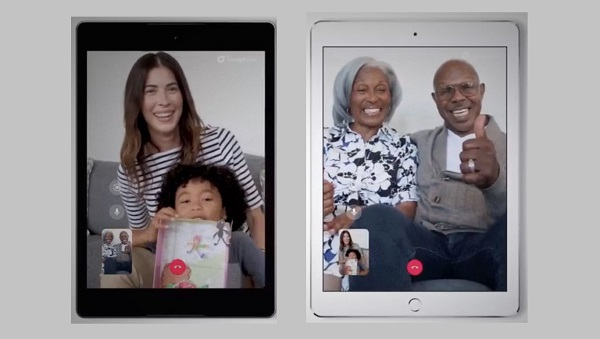 Google Duo On iPad and Android Tablet